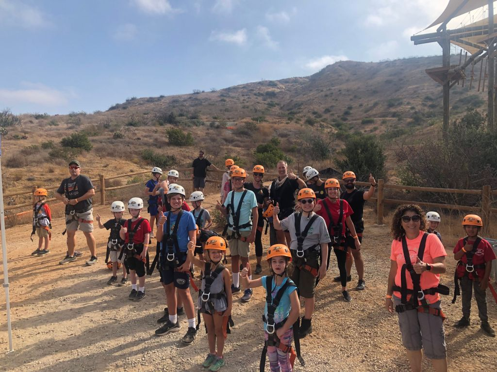 Scouts OH HB Pack 227 IROEC Family Camp a Success